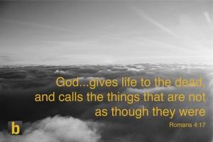 God calls things copy
